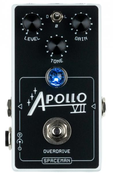 Overdrive, distortion & fuzz effect pedal Spaceman effects Apollo VII Overdrive Ltd - White