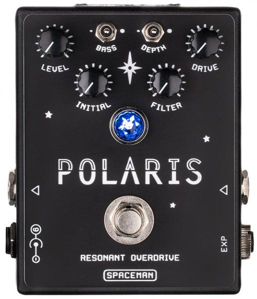 Overdrive, distortion & fuzz effect pedal Spaceman effects Polaris Resonant Overdrive Ltd - Black