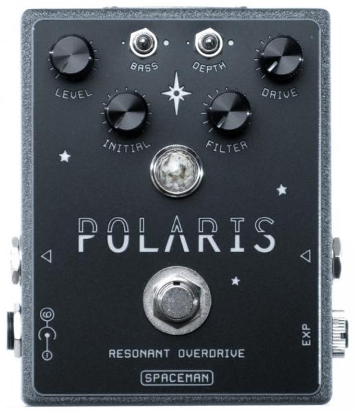 Overdrive, distortion & fuzz effect pedal Spaceman effects Polaris Resonant Overdrive Ltd - Moonrock