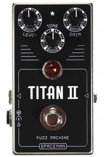 Overdrive, distortion & fuzz effect pedal Spaceman effects Titan II Fuzz Disto Overdrive Ltd - Silver