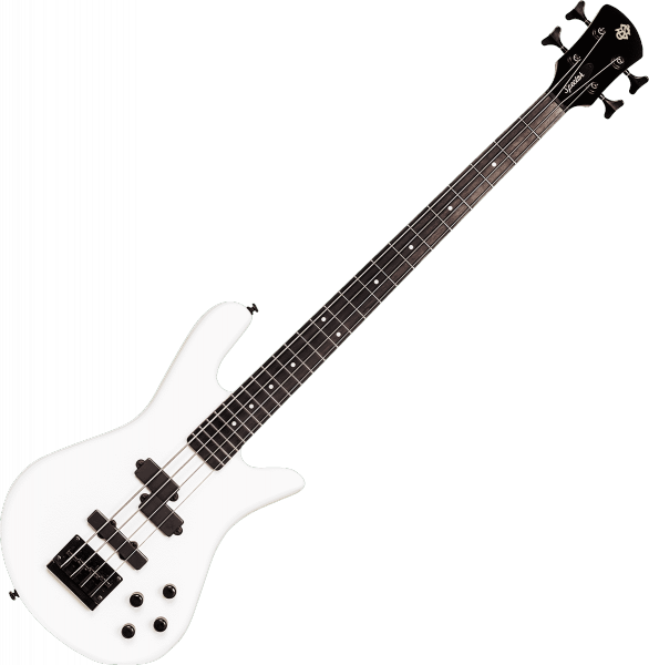 Solid body electric bass Spector                        PERFORMER SERIE 4 - White