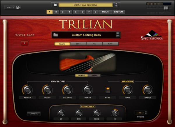 Sound bank Spectrasonics TRILIAN