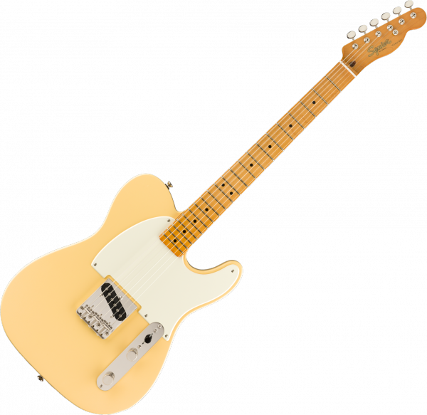Solid body electric guitar Squier ESQUIRE CLASSIC VIBE 50 LTD - Vintage white