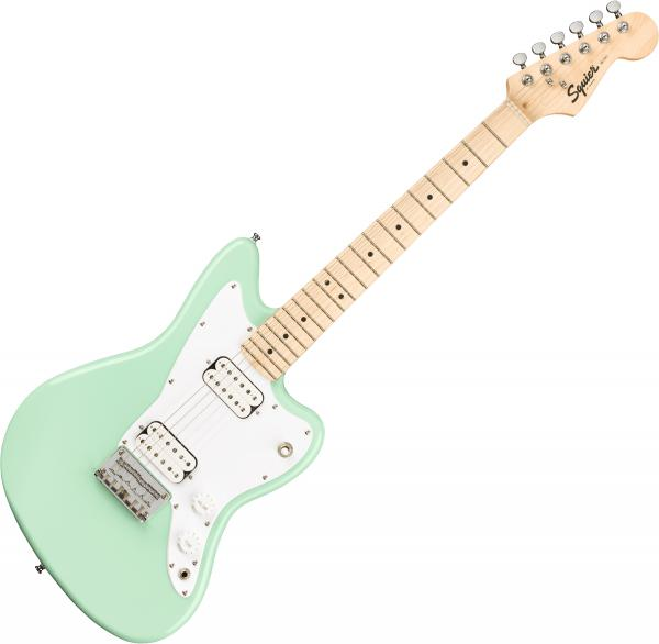 Electric guitar for kids Squier Bullet Mini Jazzmaster HH - Surf green