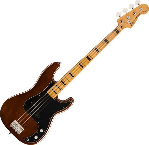 Solid body electric bass Squier Classic Vibe '70s Precision Bass 2019 - Walnut