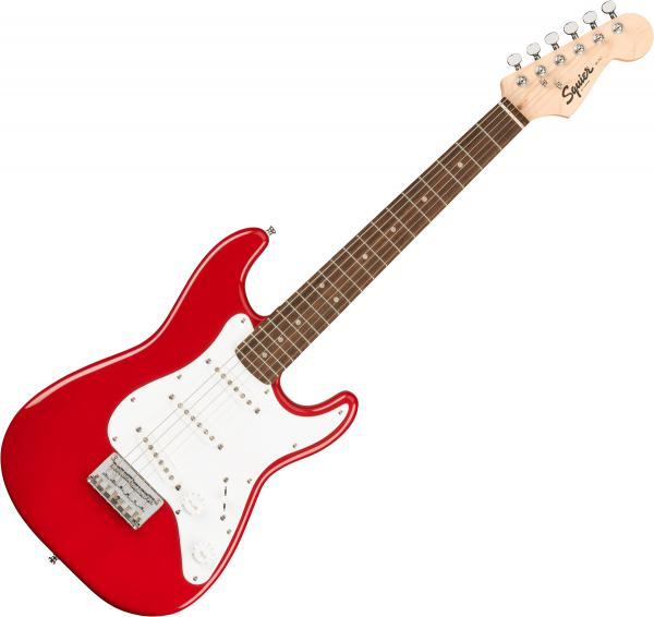 Solid body electric guitar Squier Mini Strat V2 (LAU) - Dakota red