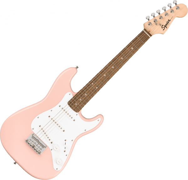 Electric guitar for kids Squier SQUIER MINI STRAT V2 - Shell pink