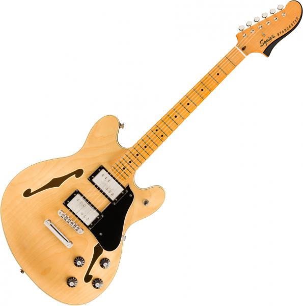 Semi-hollow electric guitar Squier Classic Vibe Starcaster - Natural