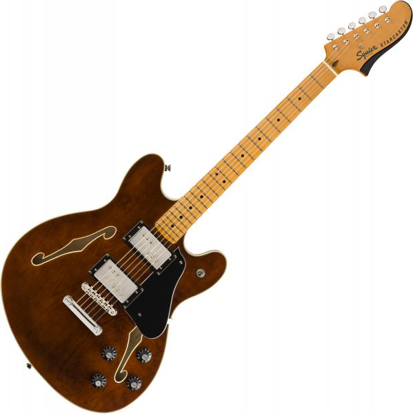 Semi-hollow electric guitar Squier Classic Vibe Starcaster - Walnut