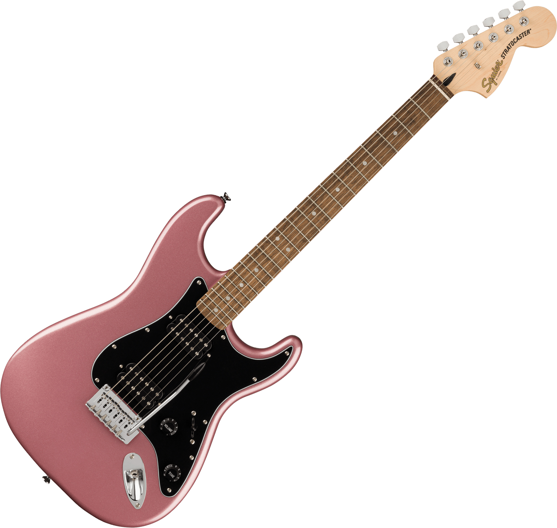 Solid body electric guitar Squier Affinity Series Stratocaster HH 2021 (LAU) - burgundy mist