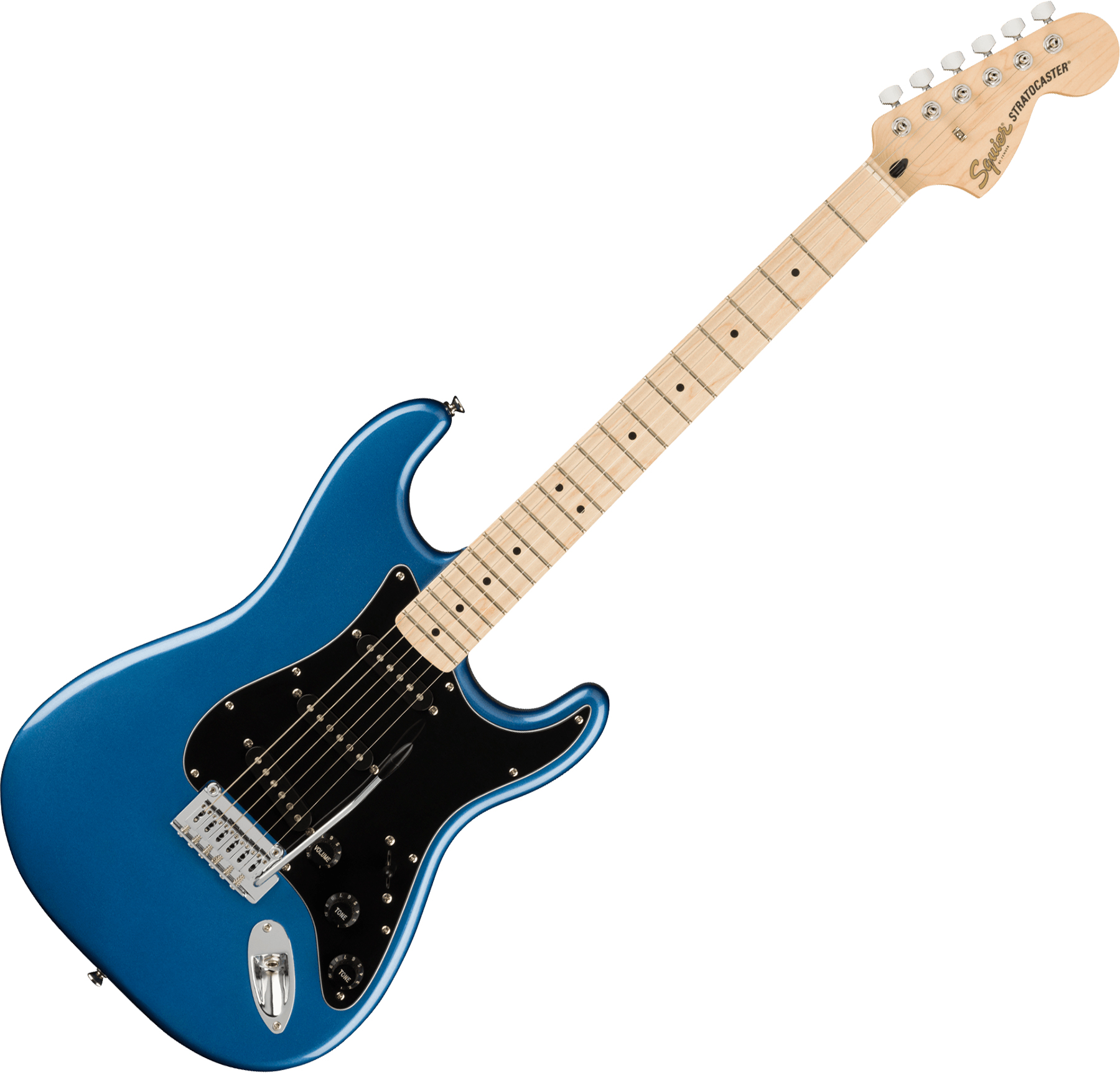 Squier Affinity Series Stratocaster 2021 (MN) - lake placid blue Solid body electric  guitar blue