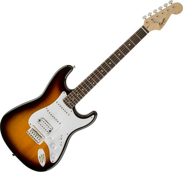 Solid body electric guitar Squier Bullet Stratocaster HSS (LAU) - Brown sunburst