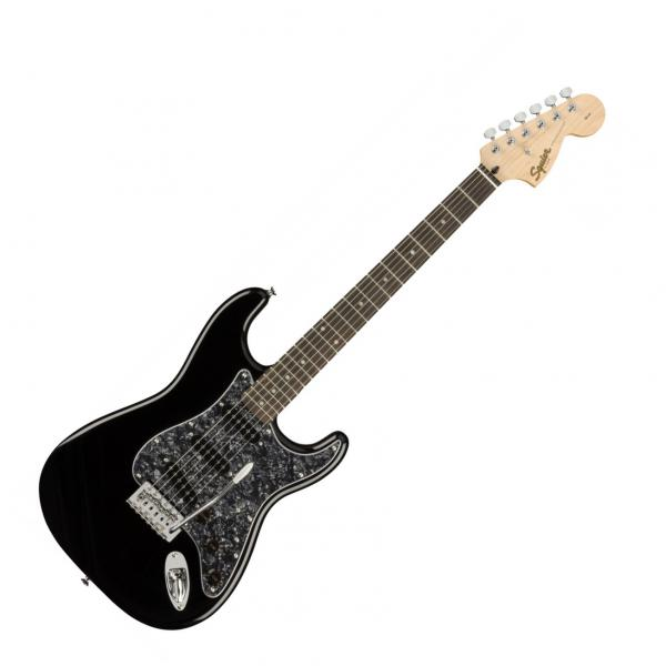 Solid body electric guitar Squier STRATOCASTER AFFINITY FSR LIMITED - Black