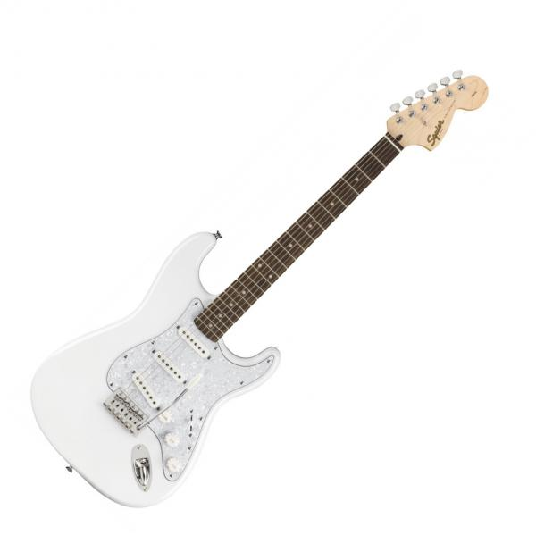 Solid body electric guitar Squier STRATOCASTER AFFINITY FSR LIMITED - Arctic white
