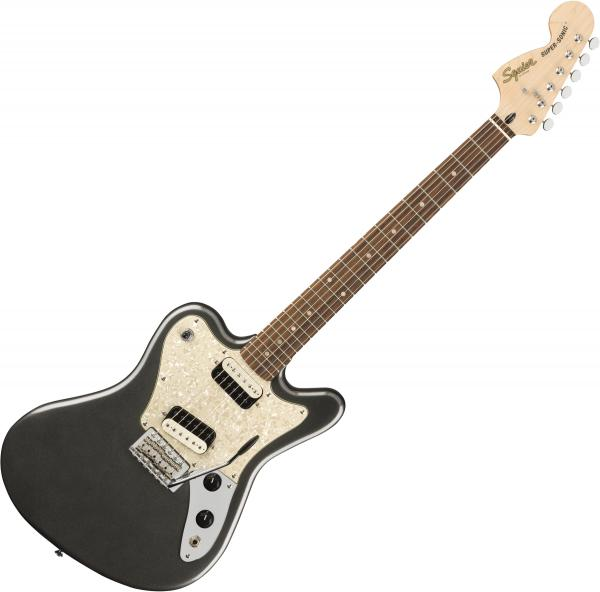 Solid body electric guitar Squier Paranormal Super-Sonic - Graphite metallic