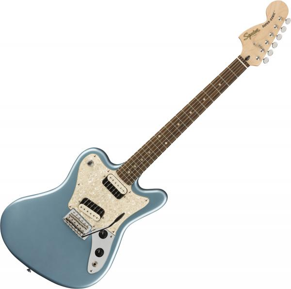 Solid body electric guitar Squier Paranormal Super-Sonic - Ice blue metallic