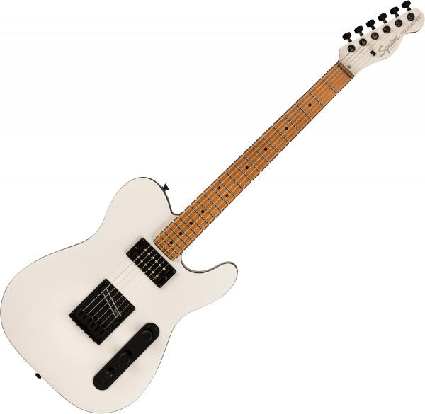 Solid body electric guitar Squier Contemporary Telecaster RH (MN) - Pearl white