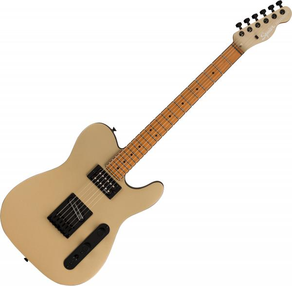 Solid body electric guitar Squier Contemporary Telecaster RH (MN) - Shoreline gold