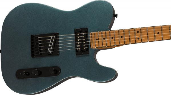 Solid body electric guitar Squier Contemporary Telecaster RH (MN) - gunmetal metallic