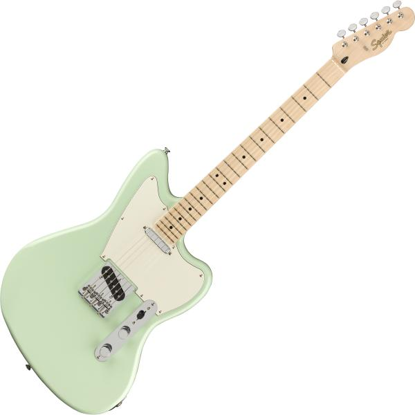 Solid body electric guitar Squier Paranormal Offset Telecaster - Surf green