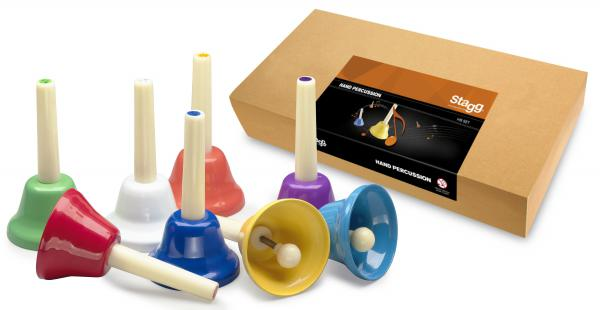 Shake percussion Stagg 8 notes handbell st