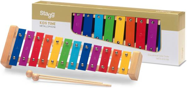 Hit percussion Stagg META-K12 Metallophone 12 notes