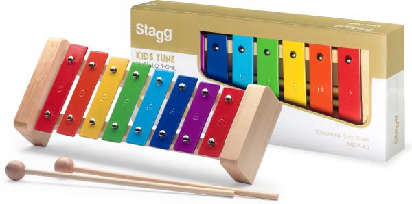 Hit percussion Stagg Kiddy Sounds Metallophone