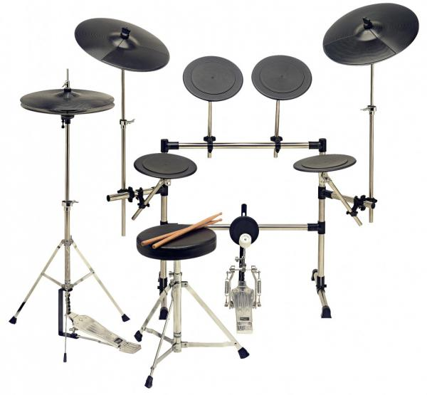 Drum promo set Stagg Silent Drum TDS-8R