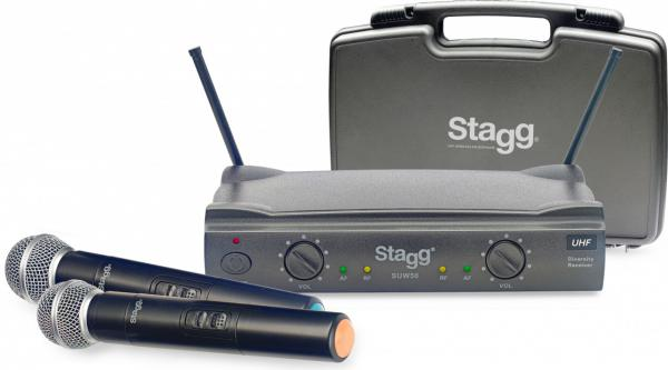 Wireless handheld microphone Stagg SUW 50 MM FH EU