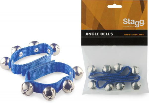 Shake percussion Stagg SWRB4 Jingle Bells - Blue