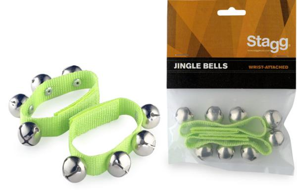 Shake percussion Stagg SWRB4 Jingle Bells - Green