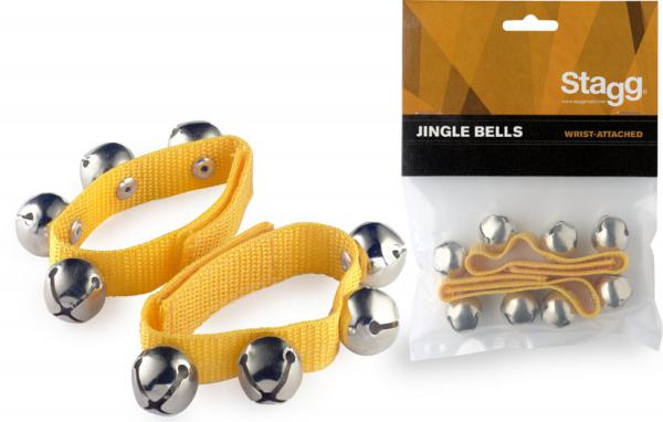 Shake percussion Stagg SWRB4 Jingle Bells - Yellow