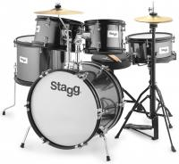 Junior drum kit Stagg TIM JR 5/16 BK Junior - Black