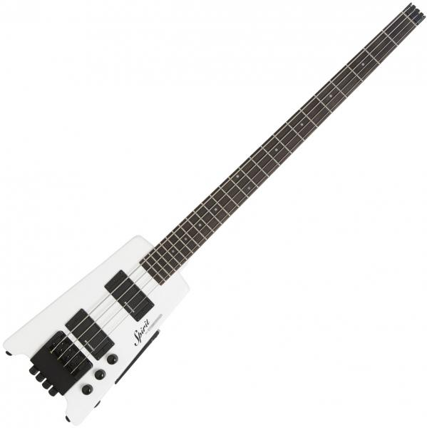 Travel electric bass Steinberger XT-2 Standard Bass +Bag - White