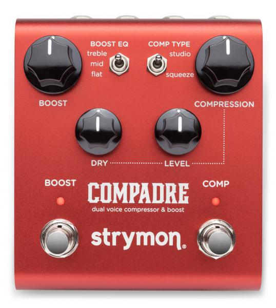 Compressor, sustain & noise gate effect pedal Strymon COMPADRE COMPRESSEUR