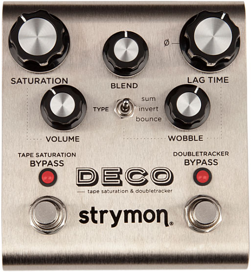 Overdrive, distortion & fuzz effect pedal Strymon Deco Tape Echo