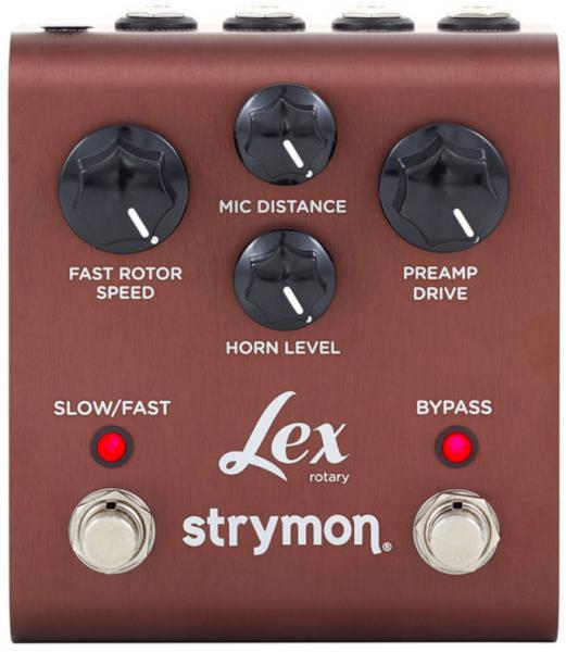 Modulation, chorus, flanger, phaser & tremolo effect pedal Strymon Lex Rotary