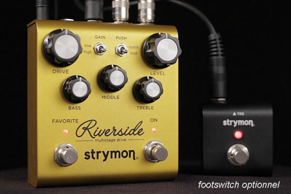Overdrive, distortion & fuzz effect pedal Strymon Riverside Multistage Drive