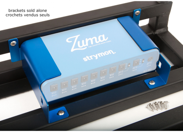 More access for guitar effects Strymon Zuma/Pedaltrain Mounting Kit Brackets