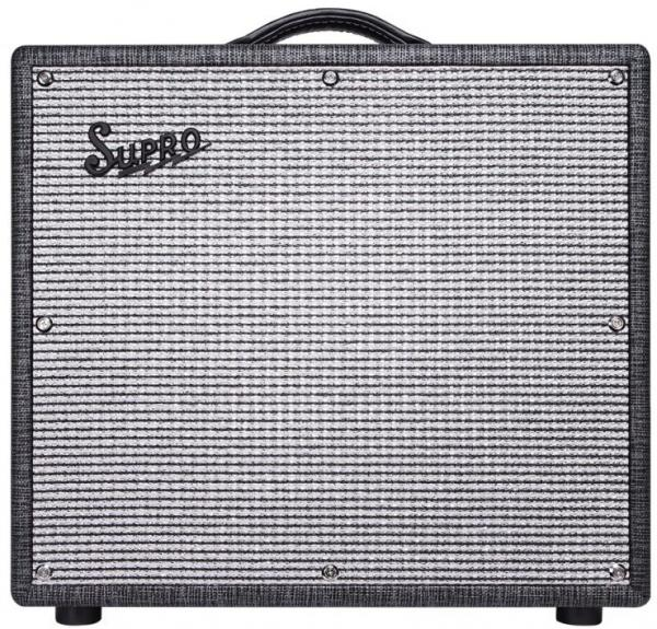 Electric guitar combo amp Supro Legend 1696RT Black Magick Reverb Combo