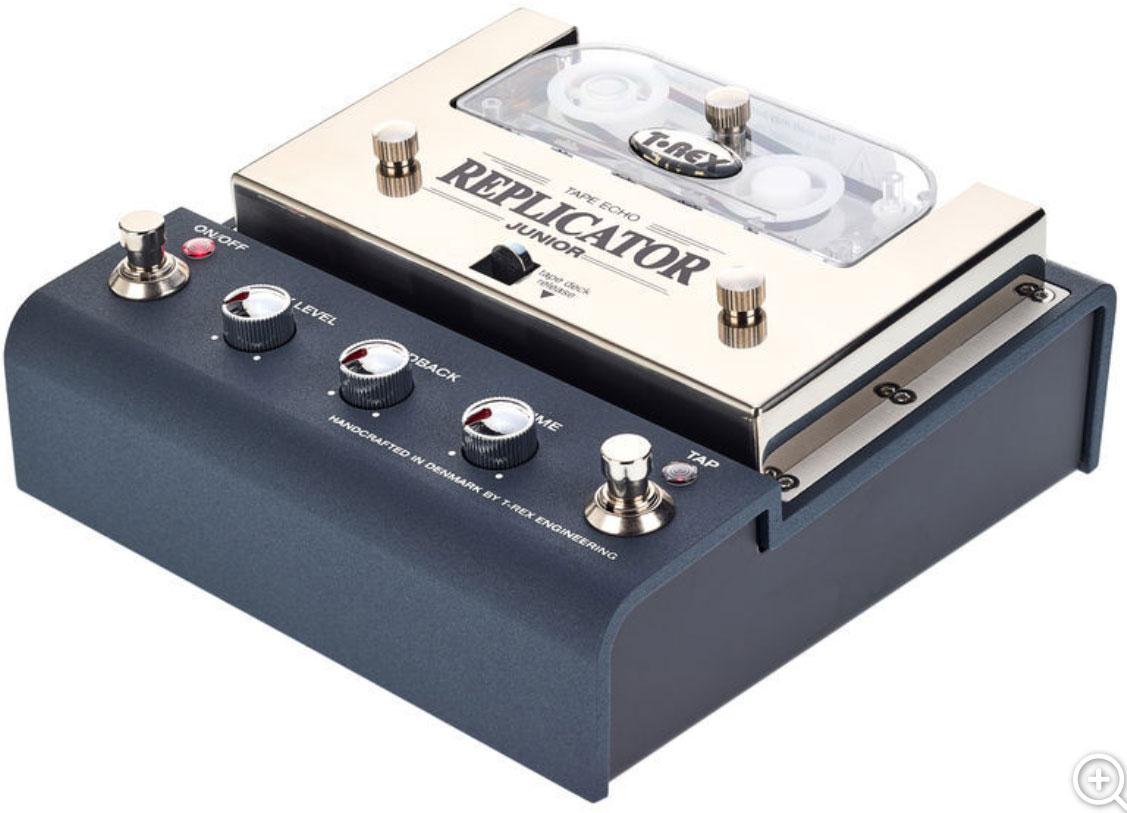 t rex replicator junior tape echo reverb delay echo effect pedal star 39 s music. Black Bedroom Furniture Sets. Home Design Ideas
