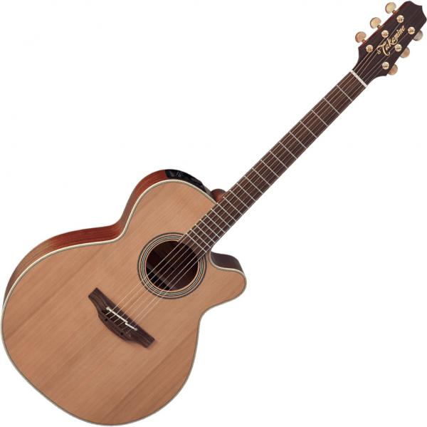 Acoustic guitar & electro Takamine EN40C - Natural