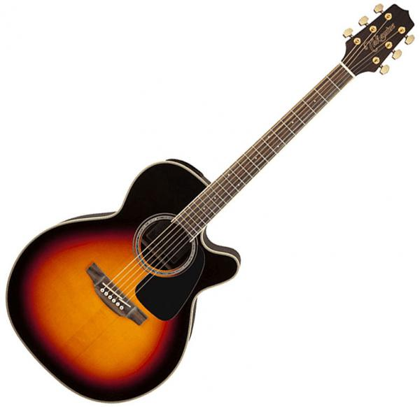 Acoustic guitar & electro Takamine GN51CE-BSB - Brown sunburst