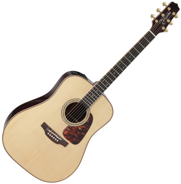 Acoustic guitar & electro Takamine P7D Pro Series Japan - Naturel