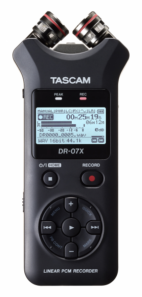 Portable recorder Tascam DR-07X