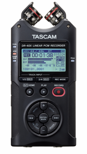 Portable recorder Tascam DR-40X