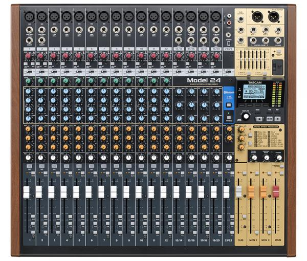 Analog mixing desk Tascam Model 24