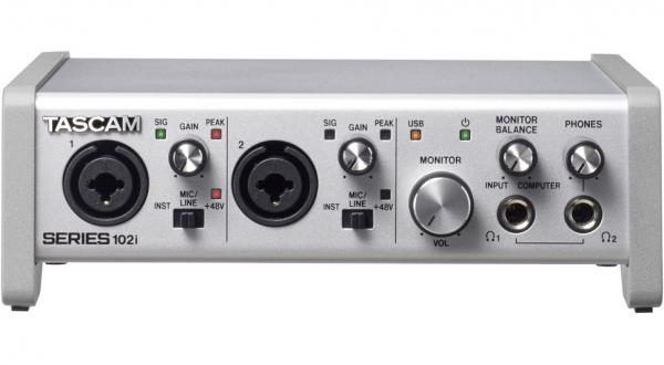 Usb audio interface Tascam Series 102I