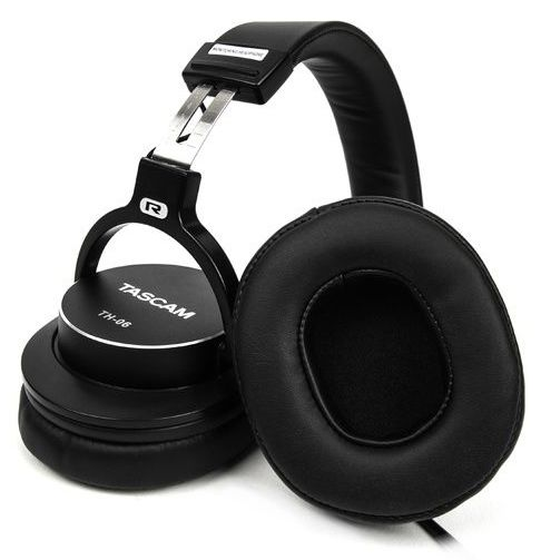 Studio & dj headphones Tascam TH-06 - noir