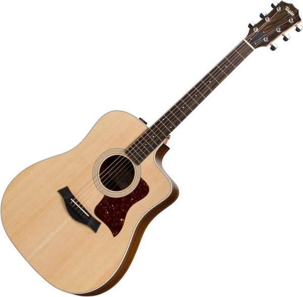 Acoustic guitar & electro Taylor 210ce 2020 - Natural satin